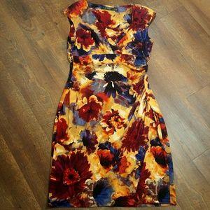 Nwot~Ralph Lauren Women's Floral Dress